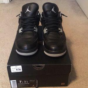 """Air Jordan 4 Retro """"Oreos"""""""